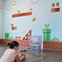 Blik wall decals: Super Mario Bros Re-Stik by Nintendo