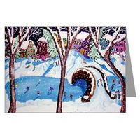 Christmastime Greeting Cards (Pk of 10)> Greeting Cards Post Cards Note Cards> Renie Britenbucher Artwork