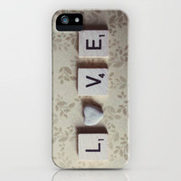 rock love iPhone Case by Beverly LeFevre | Society6