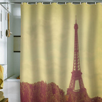 DENY Designs Home Accessories | Happee Monkee Eiffel Tower Shower Curtain