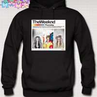 XO The Weeknd Hoodie Thursday Album Cover XO Sweatshirt Ovoxo XO The Weeknd Thursday