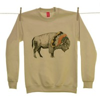 White Bison Sweater | LA LA LAND