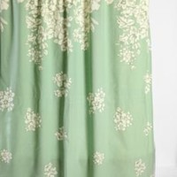 Falling Floral Shower Curtain