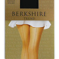 Berkshire: Trend Back Seam Pantyhose Plus Size