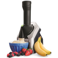 The Frozen Fruit Soft Serve Processor - Hammacher Schlemmer