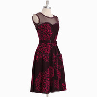 jackie dress in chantilly print by Effie's Heart - $79.99 : ShopRuche.com, Vintage Inspired Clothing, Affordable Clothes, Eco friendly Fashion