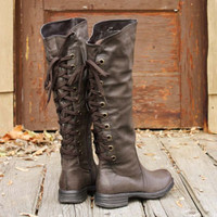 Winthrop Lace Back Rugged Boots