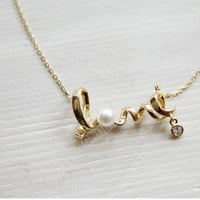 B5UT New Fashion Golden Silver New style Alloy Twist Lovely Pearl Stud Necklace