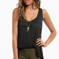 Basic Pocket Tank Top $16