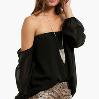 Olga Off Shoulder Top $33