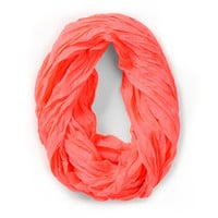 D&Y Neon Pink Infinity Scarf
