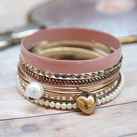 classic austen bangle set - $11.99 : ShopRuche.com, Vintage Inspired Clothing, Affordable Clothes, Eco friendly Fashion
