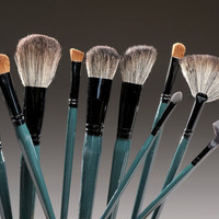 Teal Brush Set (10 Pc.)