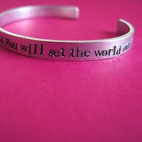 Be Who God Meant You to Be Cuff Bracelet | Spiffing Jewelry