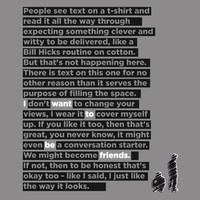 $10.00 Storewide Sale: I Want To Be Friends - Threadless.com - Best t-shirts in the world