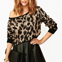 Queens Leopard Knit