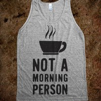 Not A Morning Person (Tank) - College Is For Your mom
