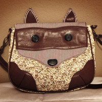 My new Fox Face purse! Target &amp;#36;19.99. I absolutely...