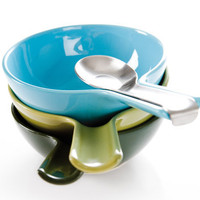 Bowls & Spoons Set by Ineke Hans for RoyalVKB - Free Shipping