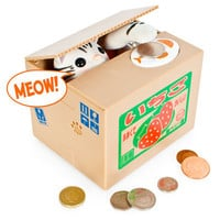 Kitty Coin Bank at Firebox.com