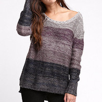 LA Hearts Boxy Open Back Sweater