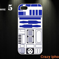 Star Wars R2D2 iphone 5 case  iphone 5 cover  iphone case iphone accessory  for iphone 4 case / iphone 4s case(custom iphone case)