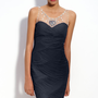 Adrianna Papell Illusion Bodice Jersey Sheath Dress | Nordstrom