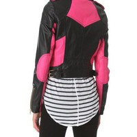 Juicy Couture Leather Moto Jacket | SHOPBOP