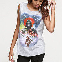Mighty Fine Star Wars Movie Muscle Tank at PacSun.com