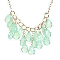 Faceted Statement Necklace | Shop Accessories at Wet Seal
