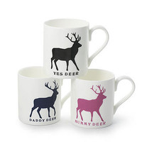 Deer Mugs
