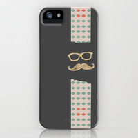 Mustache Life 3 iPhone Case by Lilach Oren | Society6