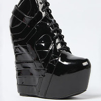 The Aksana Shoe in Black Patent (Exclusive)