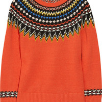 J.Crew | Fair Isle wool-blend sweater | NET-A-PORTER.COM
