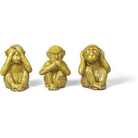 Foreside - Ceramic Monkeys s/3, Pear