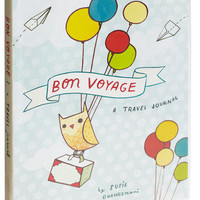 Bon Voyage Travel Journal | Mod Retro Vintage Books | ModCloth.com
