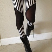 Referee  Mesh Leggings