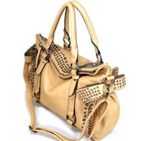 Amazon.com: 120885 apricot Cuffu Online Close-Out High Quality Women/Girl Fashion Designer Work School Office Lady Student Handbag Shoulder Bag Purse Totes Satchel Clutches Hobos: Clothing
