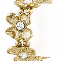 Golden Flower Bracelet – Modeets