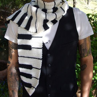 Keyboard Piano Scarf