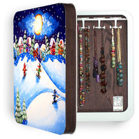 DENY Designs Home Accessories | Renie Britenbucher Skiers BlingBox 3ct