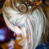 McLaughlin Designs · DIY: Bohemian Chic Hair Pin