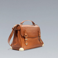 CITYBAG WITH METAL DETAILING - Woman - New this week - ZARA United States