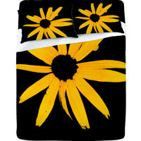 DENY Designs Home Accessories | Romi Vega Yellow Flower Sheet Set