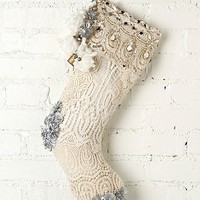 Free People FP ONE Tinsel and Lace Stocking