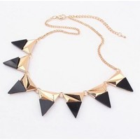 Multiple Triangle Necklace