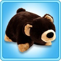 Pillow Pets®  Folding Plush :: Mr. Bear - My Pillow Pets® | The Official Home of Pillow Pets®