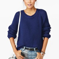 Oxford Knit - Navy