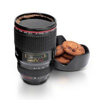 Homade Camera Lens Coffee Mug