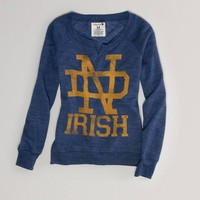 Notre Dame Vintage Fleece Popover | American Eagle Outfitters